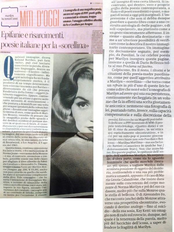 "Massimo Natale, ""il manifesto"", 15 gennaio 2017"
