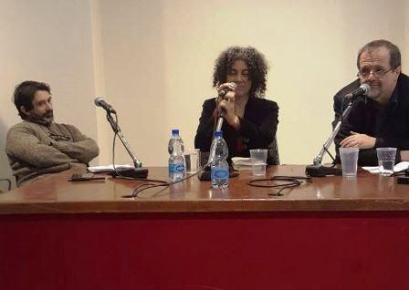 con Vincenzo Ostuni e Andrea Cortellessa
